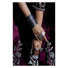 This winter, witness the beautiful marriage of glorious velvets with alluring tribal jewelry. Pictured here: The Nusrat Lehenga Exclusively available at select Anita Dongre Bridal Couture Stores: Mumbai - Linking Road Silver Earrings, Silver Jewelry, Anita Dongre, Tribal Jewelry, Indian Outfits, Lehenga, Marriage, Velvet, Jewels