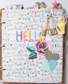 Hi everyone! I'm excited to share with you this mini album that I created  with the new Cute Girl collection by Crate Paper! I love this line so much!  Everything is so ridiculously cute and girly and magical...which is totally  my thing!  When I first saw the collection with all the awesome patterned papers, like  the lovely florals, cute kitties and pretty pinks...I just couldn't wait to  start using it all.  I especially love all of the embellishments! The fairytale imagery like the…