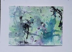 Abstract Expressionist Painting Mixed Media by AutumnInBloom