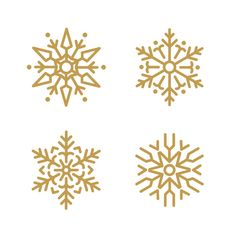 Set of snowflakes christmas design vector Free Vector Textile Pattern Design, Textile Patterns, Christmas And New Year, Xmas, Christmas Christmas, Christmas Cookies, Business Christmas Cards, Stencils, Christmas Background