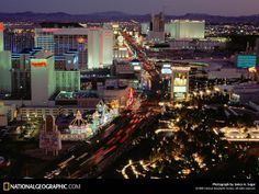 Las Vegas, US - largest city in the state of Nevada. Commonly referred to as the entertainment capital of the world