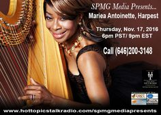 Tonight's the night to get to call in and chat with Mariea.