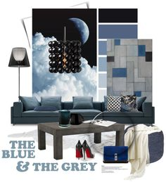 """""""The blue & the grey..."""" by gloriettequartet on Polyvore"""
