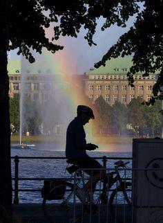 Alster Lake, Hamburg, Germany Copyright: Goran Johanson