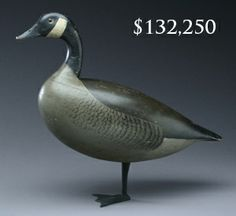 Standing Canada goose by Charles Schoenheider