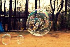 Bubbles inside bubbles... need I say more? I think not.