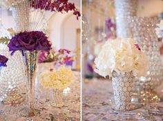 New Year's Radiant Orchid Wedding Inspiration