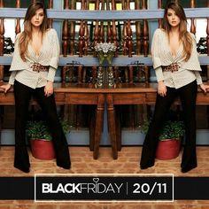 ISSO É BLACK FRIDAY DE VERDADE!!!! Nessa sexta-feira (20/11) tem Black Friday na Mariquinha Store. As lojas físicas irão funcionar normalmente das 10:00 às 19:00hs com peças incríveis e descontos de até 50% OFF. IMPERDÍVEL!!! @mariquinhastore