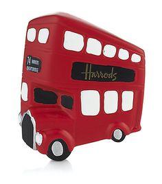 Harrods Bus Fridge Magnet