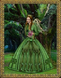 EKDuncan - My Fanciful Muse: Queen of the Spring Fairies