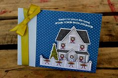 Home For The Holidays Card by Jess Witty for Papertrey Ink (September 2012)