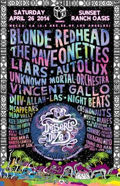 The Desert Daze Lineup Is Here! | NOISEY