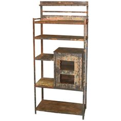 Vintage Industrial Cabinet   From a unique collection of antique and modern cabinets at http://www.1stdibs.com/furniture/storage-case-pieces/cabinets/