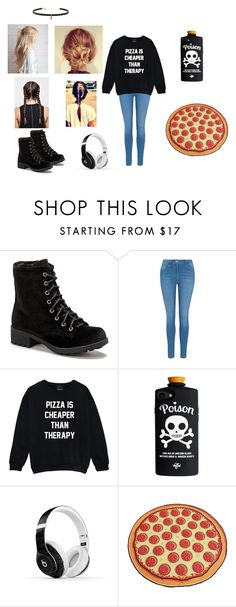 """Untitled #21"" by skatergirl0507 ❤ liked on Polyvore featuring Charles Albert, George, Beats by Dr. Dre, Big Mouth and Carbon & Hyde"