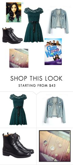 """Girl meets world Riley outfit"" by livelaughloveforever29 ❤ liked on Polyvore featuring WalG, Retrò and EF Collection"
