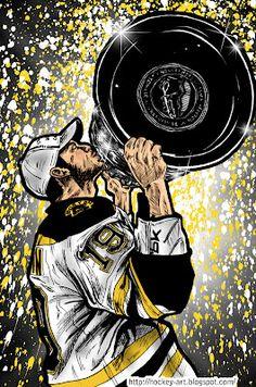 Hockey in art: Boston Bruins - Tyler Seguin