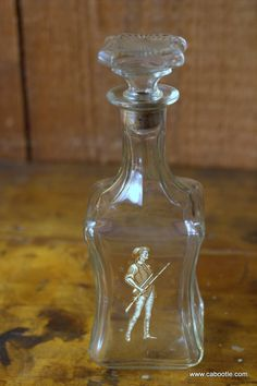 Cabootle - Vintage Old Fitzgerald Whiskey Decanter circa 1960s, $55.00 (http://www.cabootle.com/products/kitchenware/barware/vintage-old-fitzgerald-whiskey-decanter-circa-1960s/)