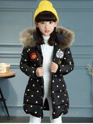 SHARE & Get it FREE | Hooded Polka Dot Girls Long Padded CoatFor Fashion Lovers only:80,000+ Items • New Arrivals Daily • Affordable Casual to Chic for Every Occasion Join Sammydress: Get YOUR $50 NOW!