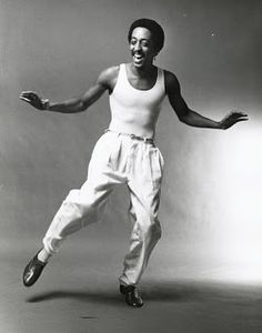 "#inspiration #CapezioStudio2Street ""Gregory Hines, Muscle Tee, Pants"""