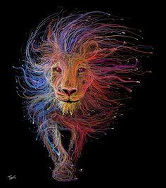 Lion veins – by a Genius, Charis Tsevis