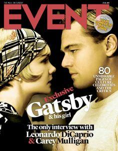 Leonardo DiCaprio and Carey Mulligan, 21st April 2013