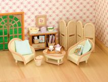 Beau Sylvanian Families   Conservatory Living Room Set A Beautiful Furniture Set  Ideal For The Willow Hall