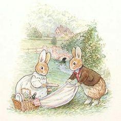 Rabbit Illustration, Graphic Illustration, Lapin Art, Beatrix Potter Illustrations, Beatrice Potter, Peter Rabbit And Friends, Precious Children, Watercolor Animals, Cute Drawings