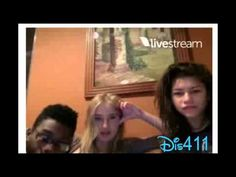 Zendaya's Live Chat With Veronica Dunne & Kamil McFadden Janury 25, 2015 - YouTube