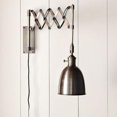 Accordion Bedside Lamp + Headboard Tutorial » Curbly | DIY Design ...