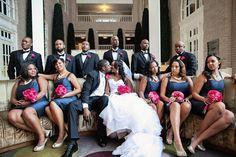 Vintage Wedding with Modern Twist in Atlanta