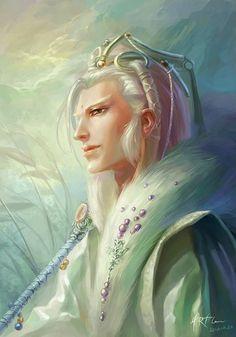 Portrait of Elf (c) HR Flower