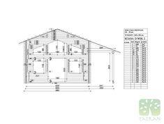 MARIA & RUI - 140,35m2 Beams, Floor Plans, Construction, Building