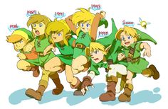 Link through the ages