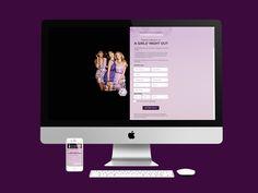 Kohls hizo un concurso para que las mujeres se registren y ganen perfumes de Be Jeweled Vera Wang, en EE.UU. Se hizo el diseño de la página web en HTML.  Año 2013.