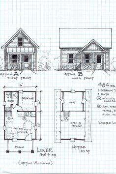 Tiny house on wheels plans free pdf fresh apartments tiny cabin plans small cabin floor plans Cabin Plans With Loft, Small Cabin Plans, Loft Floor Plans, Small House Floor Plans, Little House Plans, Cabin House Plans, Cabin Kits, Tyni House, Tiny House Living