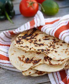 How To Make Flour Tortillas: A Step-By-Step Tutorial | sharedappetite.com
