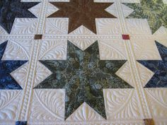 I am loving this quilt. While it is taking longer than I thought, (don't they always take longer than we think they will?) I am enjoying e...