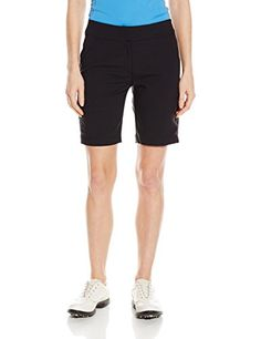 Women's Athletic Skorts - PGA TOUR Womens Woven Tech Bermuda Shorts >>> Check out the image by visiting the link. (This is an Amazon affiliate link)