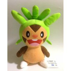 Pokemon 2013 Banpresto UFO Game Catcher Prize Chespin DX Plush