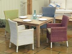 Frame: Clermont Dining Fabric: Durban Canvas