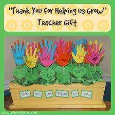 "Play Eat Grow: ""Thank You for Helping Us Grow"" Teacher Gift"