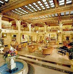 The Davenport Hotel - Seriously it's this amazing!