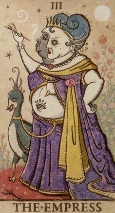 The Empress - Deviant Moon Tarot