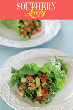 Summer Lettuce Wraps - Southern Lady Magazine