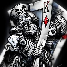 queen of hearts doodle - Google Search