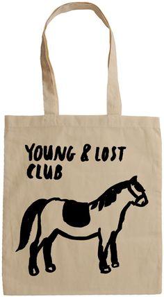 Y Pony Tote Bag