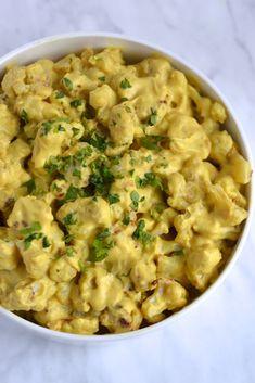 Cauliflower Mac & Cheese (Vegan, Paleo, Dairy Free, Low Carb)