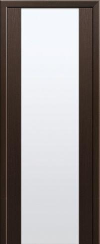 Межкомнатная дверь PROFIL DOORS, модель 8X, Со стеклом, цвет мелинга венге, материал Экошпон, стиль Модерн | Купить от 7170 руб