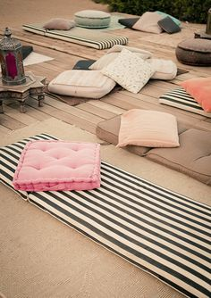 Korakia Pensione In Palm Springs The Style Files Outdoor Spaces, Outdoor Living, Outdoor Beds, Outdoor Cushions, Outdoor Lounge, Outdoor Seating, Le Logis, Spring Photos, Rustic Outdoor