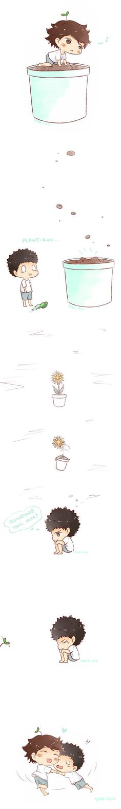 Iwa-chan and Oikawa plant PART3 by Naruu-kun.deviantart.com on @DeviantArt #3